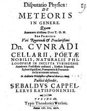 Disp. phys. de meteoris in genere