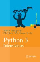 Python 3   Intensivkurs