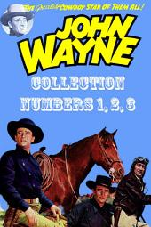 John Wayne Adventure Comics Collection, Numbers 1, 2, 3