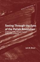 Seeing Through the Eyes of the Polish Revolution PDF