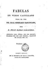 Fábulas en verso castellano para el uso de R. Seminario Bascongado, 3