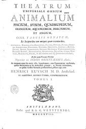 Theatrum universale omnium animalium ... a J. Jonstonio collectum ... cura Henrici Ruysch