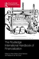 The Routledge International Handbook of Financialization PDF