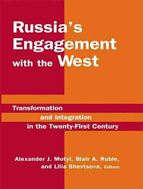 Russia s Engagement with the West PDF