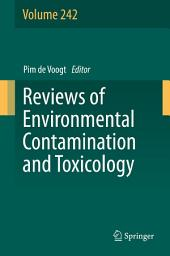 Reviews of Environmental Contamination and Toxicology: Volume 242