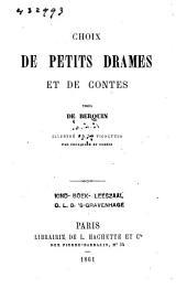 Choix de petits drames et de contes