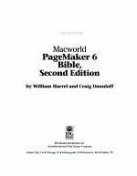 Macworld PageMaker 6 Bible PDF