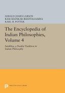 The Encyclopedia of Indian Philosophies  Volume 4 PDF