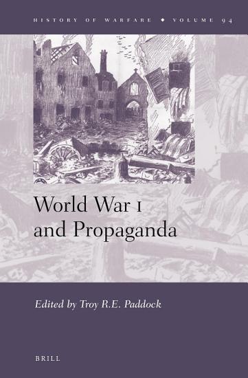 World War I and Propaganda PDF