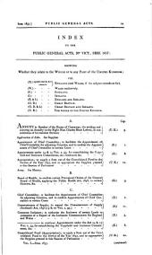 Parliamentary Papers, House of Commons and Command: Volume 1