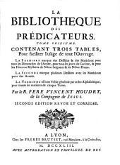 La Bibliotheque Des Predicateurs : Qui Contient Les Principaux Sujets De La Morale Chrètienne. [17].