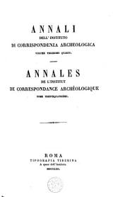 Annali dell' instituto di corrispondenza archeologica: Volume 34