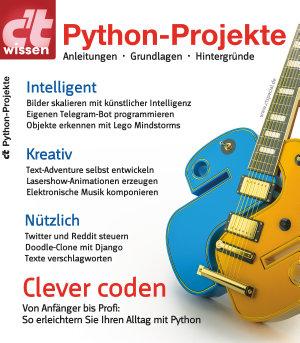 c t wissen Python Projekte  2018  PDF