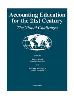 Accounting Education for the 21st Century PDF