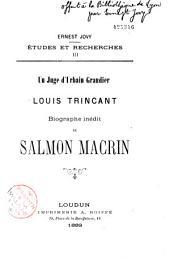 Louis Trincant biographe inédit de Salomon Macrin