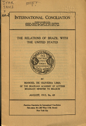 The Relations of Brazil with the United States