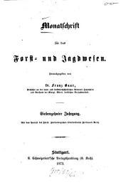 Monatschrift für das Forst- und Jagdwesen: 1873