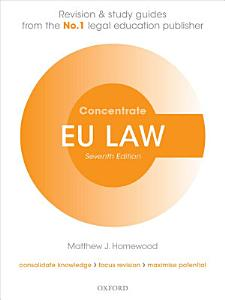 EU Law Concentrate PDF