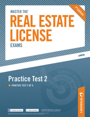 Master the Real Estate License Exam  Practice Test 2