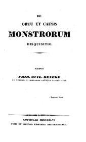 De ortu et causis monstrorum disquisitio