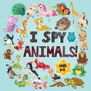 I Spy Animals Book Ages 2-5
