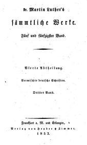 Dr. Martin Luther's sämmtliche Werke: Bände 55-56