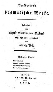 Shakespeare's dramatische Werke: Band 6