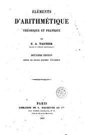 Éléments d'arithmétique théorique et pratique