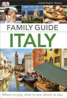 Eyewitness Travel Family Guide Italy PDF