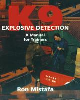 K9 Explosive Detection PDF