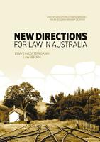 New Directions for Law in Australia PDF