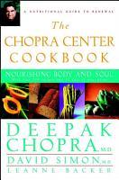 The Chopra Center Cookbook PDF