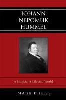 Johann Nepomuk Hummel PDF