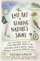 The Lost Art of Reading Nature s Signs PDF