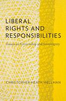 Liberal Rights and Responsibilities PDF