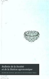 Bulletin de la Société et de la Station agronomique: Volumes14à15