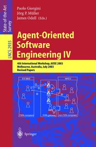 Agent Oriented Software Engineering IV PDF