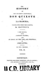 The history of the ingenious gentleman, Don Quixote of La Mancha: Volume 2