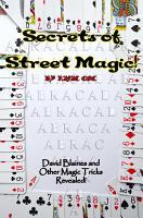 The Secrets of Street Magic PDF