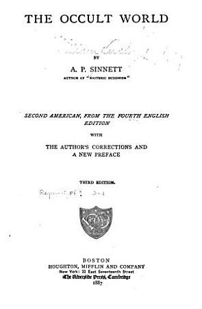 The Occult World PDF