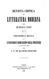 Theophilo Braga e o Cancioneiro e romanceiro geral portuguez