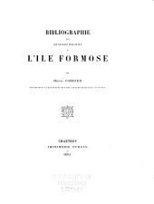 Bibliographie des ouvrages relatifs à l'île Formose