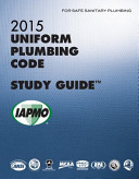 2015 Uniform Plumbing Code Study Guide