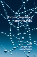 Corpus Linguistics and the Web PDF