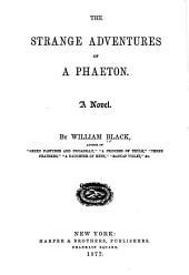 The Strange Adventures of a Phaeton: A Novel