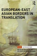 European East Asian Borders in Translation PDF