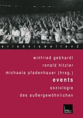 Events: Soziologie des Außergewöhnlichen