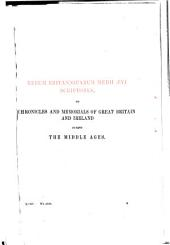 Materials for the history of Thomas Becket: Epistles, CCXXVII-DXXX