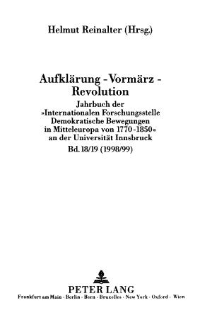 Aufkl  rung Vorm  rz Revolution PDF