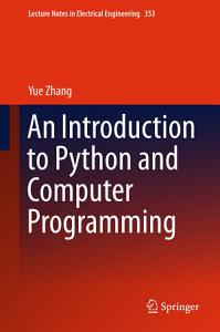 An Introduction to Python and Computer Programming PDF